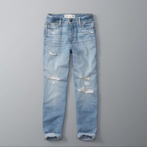 Abercrombie & Fitch girlfriend high rise jeans